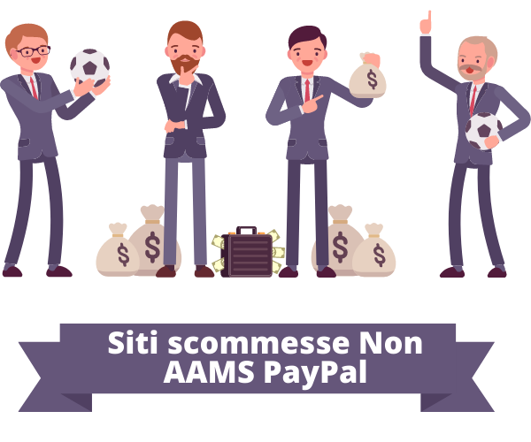 Siti scommesse Non AAMS PayPal